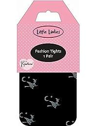 Couture Little Ladies Mädchen Strumpfhose mit Hexen-Motiv