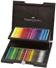Idea Regalo - 72 color set Faber-Castell Porikuromosu colored pencil (wooden box case) (japan import), 72 farben