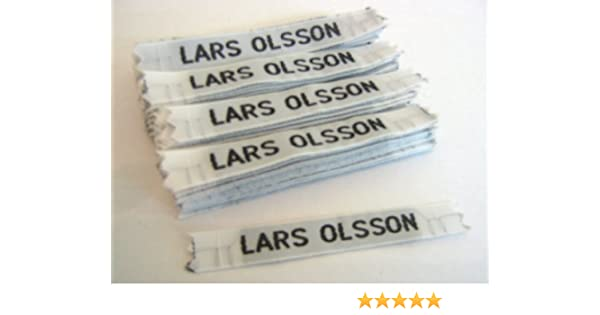 CASH144 Cash Woven Personalised Nametapes per pack of 144