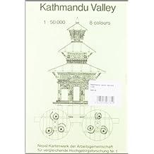 KATHMANDU VALLEY - 1/50.000