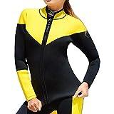 Damen Tauchanzug Neoprenanzug Windjacke Tauchmantel Wassersport Anzug Hohe Elastizität Für Winter Schwimmen Surfen