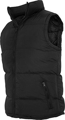 Urban classics veste pour homme contrast bubble tB 299 coupe regular fit Multicolore - Noir/noir