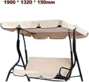 BAGGRA Outdoor Swing Canopy Waterproof Cover Garden Sun Shade Patio Swing Cover Case Chairs Hammock Cover Pouc