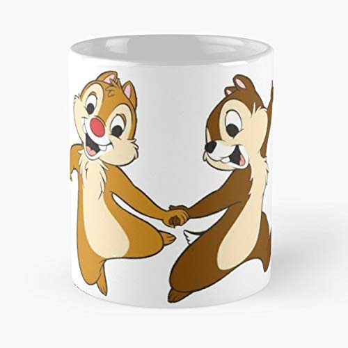 Chip Dale Cartoon A Best Gift Ceramic Coffee Mugs Teller-chip