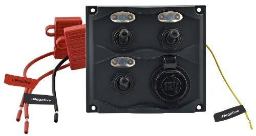 Shoreline Marine Gang Switch Panel with LED Indicator by Shoreline Marine (Shoreline Marine Led)