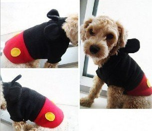 Le style de Mickey Mouse [] ids chien porter Mickey style formateur v?tements chien de chat de chien est tout 5 taille (M) (japan import)