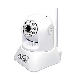 upCam Cyclone HD S+ IP Kamera mit Nachtsicht (Sony Exmor Full HD 1920x1080, WLAN, Ton, App, SD Karte, Cloud, Weitwinkel, IP Cam für innen) Deutscher Überwachungskamera Hersteller und Support