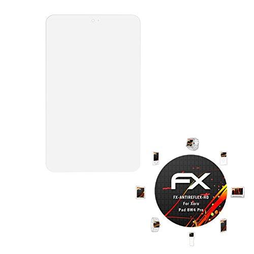 atFolix Schutzfolie kompatibel mit Xoro Pad 8W4 Pro Bildschirmschutzfolie, HD-Entspiegelung FX Folie (2X)