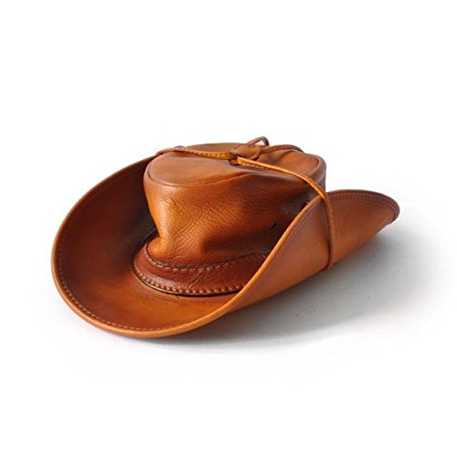 Pratesi Cagliostro chapeau 59 cm - B040/59 Bruce (Cognac) Noir