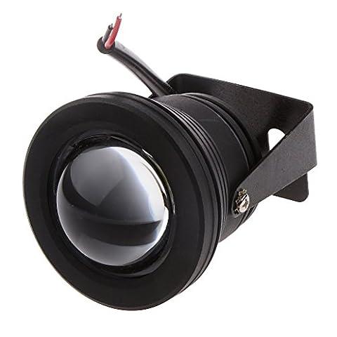MagiDeal Universelle Puce 10w Cob Lumière Voiture Brouillard Conduit Diurne DRL Lampe Noire