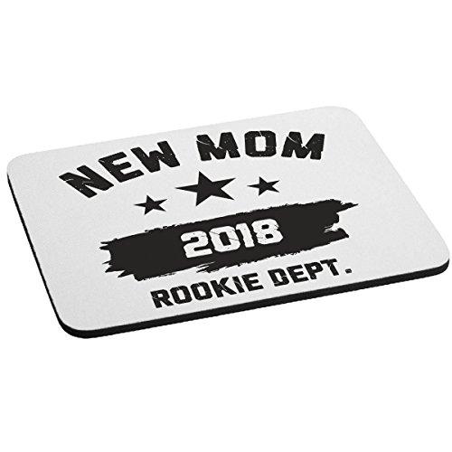 Mousepad Festa della Mamma New Mom 2018 Rookie dept. - happy mother's day - humor - idea regalo - in poliestere