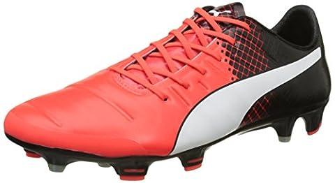 Puma EP 1.3 FG F6, Men's Football Boots, Red (Red/Wht/Blk), 9.5 UK (44 EU)