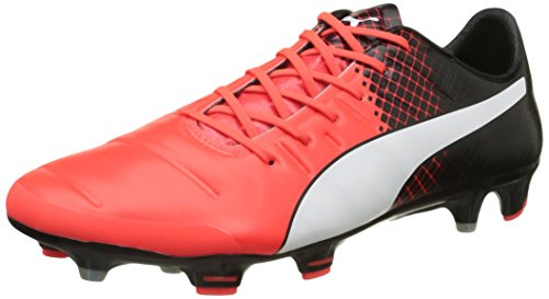 Puma Evopower 1 3 Fg, Chaussures de Football Amricain Homme Rouge (Red/Wht/Blk)