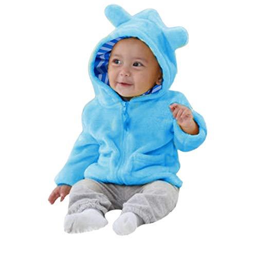 Completini Per Bambini Vestiti 0-24 Bambina Vestiti Di Neonati Vestit Autunno  Neonato Ragazzi Ragazze Maniche Lunghe Tenere Caldo Vestito Con Cappuccio  ... 8f2bb5a5dd2