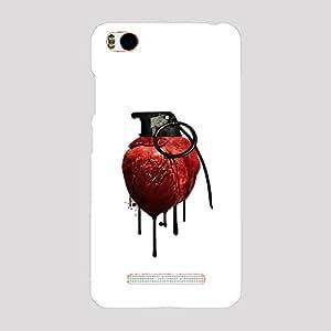 Back cover for Xiaomi Mi4i Heart Grenade