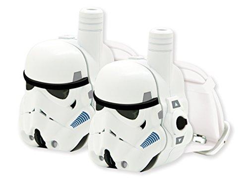 Star Wars Storm Trooper Walkie Talkie Set mit Armband und Uhr - Weiß