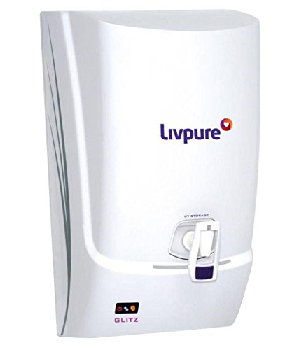 Livpure Glitz 7 L UV and UF Water Purifier (White)