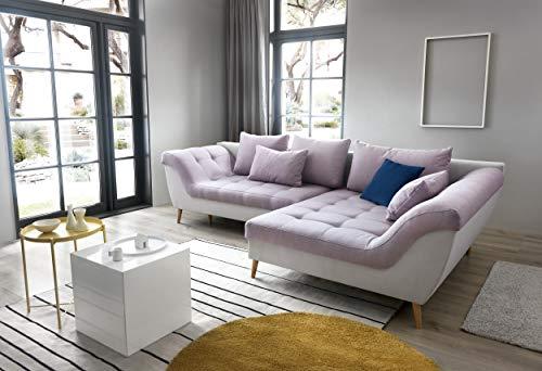 Mobella divano angolare aruba con elegante funzione sonno