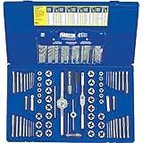 117-Pc Deluxe Combo Set - Taps & Dies, HSS Drills, Extractors by Irwin Tools