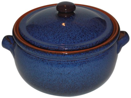 Amazing Cookware Kochtopf, Terrakotta, 1,5l, Reactive Blue