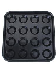 Piscina De Plástico Bandeja De Billar Bola Tiene 16 Bolas - Negro