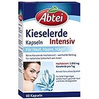 Abtei Kieselerde Intensiv Kapseln, 60 Stück, 1-er Pack (1 x 60 St.) preisvergleich bei billige-tabletten.eu