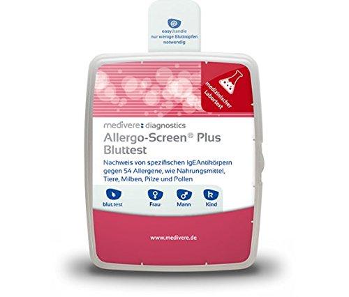 Medivere AllergoScreen PLUS Bluttest über 54 häufige Allergene