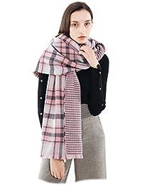 24f7cfcb3891 Femme Fille Tartan carreaux plaid Extra Longue Écharpe Wrap Châles Etole  Frange