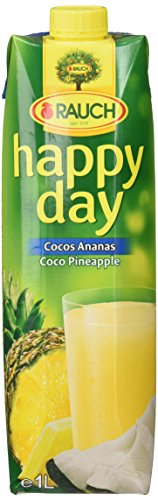 Kokos-saft (Rauch Happy Day Cocos-Ananas, 6er Pack (6 x 1 l))