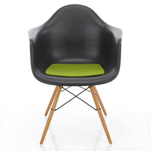 Hey-Sign Sitzaufl Eames Plastic Armchair - V, Maigrün 30 AR