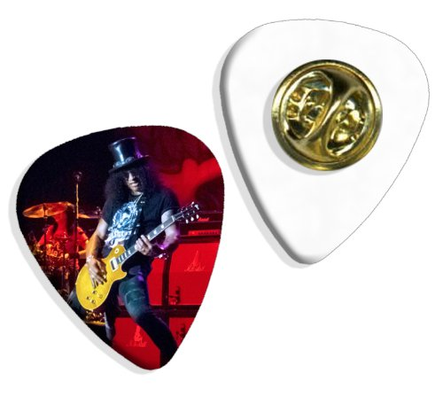 Slash (WK) Live Performance Guitarra Pick Badge Placa