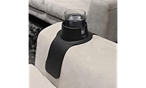 CouchCoaster - The ultimate drink holder for your sofa, Jet Black