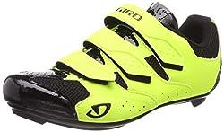 Giro Herren Techne Road Radsportschuhe - Rennrad, Mehrfarbig (Highlight Yellow 000), 43 EU