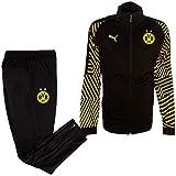 Puma Borussia Dortmund BVB Tuta Allenamento Borussia Training Tracksuit Stadium Nero (L)