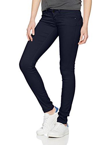 ONLY Damen Hose Onllucia SL Skinny Push UP Pant Pnt Noos, Blau (Night Sky), 38/L34 (Herstellergröße: 38) (Blaue Skinny Hose)