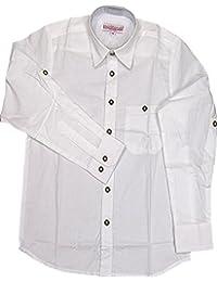 trenditionals Trachtenhemd Vinz für Kinder aus 100% Power Loom Baumwolle pflegeleicht in verschiedenen Ausführungen