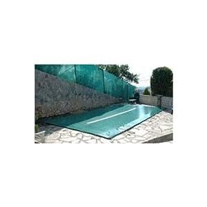 Bache d hiver pour piscine enterree 6x3m - gre CIPVC600