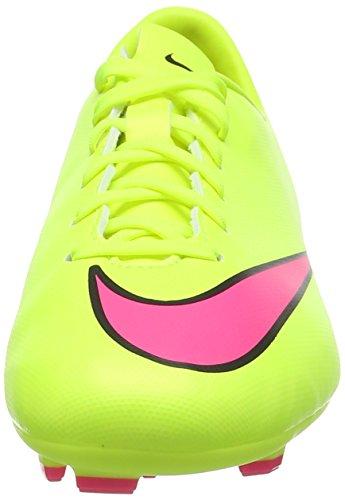 Nike Jr Mercurial Victory V Fg, Chaussures de Football homme Gelb (Volt/Hyper Pink-Black 760)