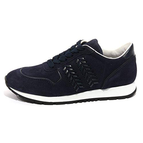 B1459 sneaker donna TOD'S scarpa sportiva blu shoes women Blu