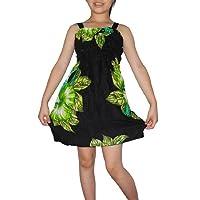 Girls Thai Exotic Gathered / Smocked Bodice Summer Tank Dress (Size: 1-2)