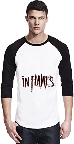 In Flames Logo Shirt unisex baseball Unisex Baseball Jersey Men Women Stylish Fashion Fit Custom Apparel by Genuine Fan Merchandise Large