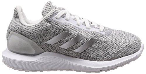 100% authentic d81db 725fa ... Adidas Cosmic 2 Sl W, Écharpe De Running Donna Bianco (ftwr Blanc   Argent