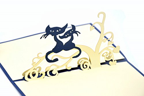 medigy-biglietti-di-natale-3d-pop-up-biglietto-fatto-a-mano-scheda-fogli-bianchi-gatti-blu