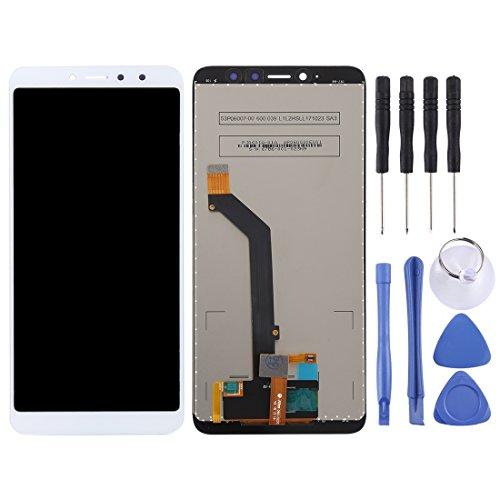 PANTALLA LCD Accesorios DE TELEFONO MOVIL Inteligente LJ y ensamblaje Completo del digitalizador para Xiaomi Redmi S2 (Negro) (Color : Blanco)