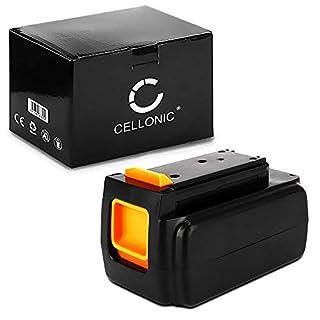 Cellonic Premium Akku (36V, 2Ah, Li-Ion) für Black & Decker CLMA4820L2, GLC3630L20, GTC36552PC, GWC3600L20, STB3620L - BL1336, LBXR36 Ersatzakku Batterie Werkzeugakku