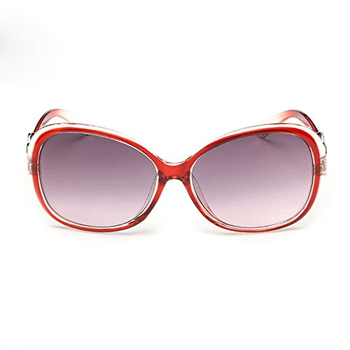 Wudube occhiali vendita calda donne alla moda bella fantastico doppio anello decorazione occhiali occhiali occhiali uv integrato