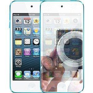TECHGEAR® * * 2Stück * *-Apple iPod Touch 5/5G/5. Generation/10,2cm/2012/32GB/64GB Spiegel Displayschutzfolie mit Reinigungstuch