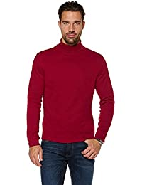 a4988999206f elegance1234 MEN S ROLL NECK SOFT QUALITY COTTON LONG-SLEEVE TOPS(Ref 1251)