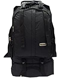PRO-LINE Elite Rucksack Bags 60 Ltr Trekking Outdoor Backpack With Shoe Pocket Climate Proof Travel Bag For Hiking...
