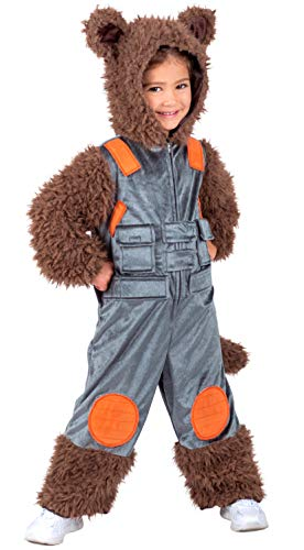 (Guardians of the Galaxy Rocket Child Costume, XS(4))